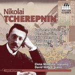 Songs / Nikolai Tcherepnin by Nicolas Tcherepnine, Elena Mindlina, and David Witten