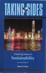 Taking Sides : Clashing Views in Sustainability by Robert W. Taylor