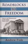 Roadblocks to Freedom : Slavery and Manumission in the United States South