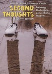 Second Thoughts : Sociology Challenges Conventional Wisdom