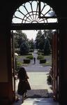 Russ Hall Doorway, 1980