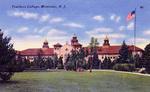 A Postcard of College Hall, Circa 1928