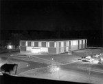 Sprague Library at Night, 1963
