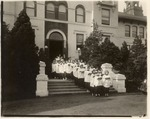Choir in front of College Hall