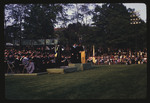 Faculty and Guests at Commencement, 1971 by Montclair State College
