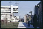 Campus by the Student Center, 1972 by Montclair State College