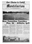The Montclarion, October 29, 1969