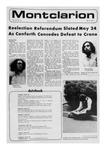 The Montclarion, May 18, 1972