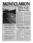 The Montclarion, October 21, 1976
