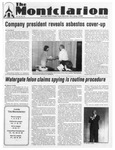 The Montclarion, October 25, 1984