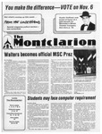 The Montclarion, November 01, 1984