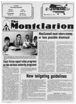 The Montclarion, September 26, 1985