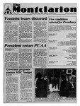 The Montclarion, March 16, 1989