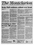 The Montclarion, November 29, 1990