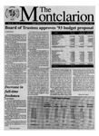 The Montclarion, September 26, 1991