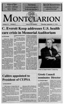 The Montclarion, September 17, 1992