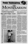 The Montclarion, November 25, 1992