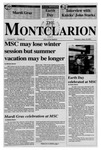 The Montclarion, April 22, 1993