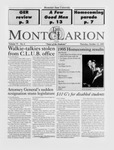 The Montclarion, October 12, 1995