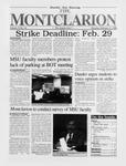 The Montclarion, February 15, 1996