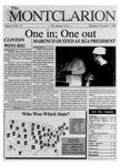The Montclarion, November 7, 1996