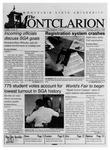 The Montclarion, April 16, 1998