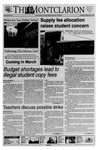 The Montclarion, February 25, 1999