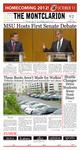 The Montclarion, October 11, 2012
