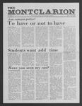 The Montclarion, October 8, 1981