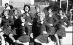 Montclair State College Twirlers