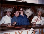 Lambda Chi Delta Booth at the 1964 Spring Carnival