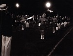 Twirlers and Marching Band