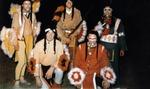 A group of Lambda Chi Delta Mascots