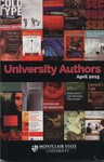 University Authors, 2015 by Montclair State University and Harry A. Sprague Library